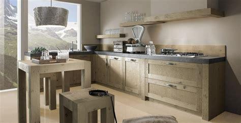 cuisine schroder une cuisine design et moderne toute en bois
