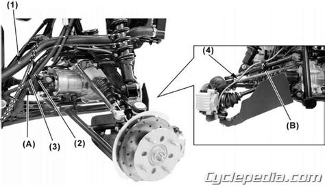 Kymco Mxu Atv Swingarm Solid Rear Axle Online Service