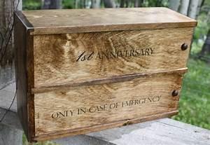 double wine box anniversary wedding ceremony box With wine box wedding ceremony