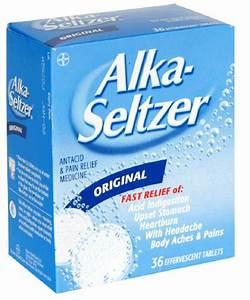 Alka-Seltzer Antacid & Pain Relief Original Effervescent ...