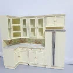 bespaq dollhouse miniature kitchen cabinet furniture set