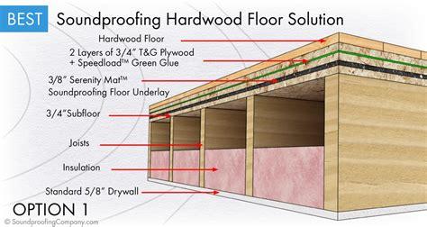 soundproofing wooden floors best soundproof wood floor assembly 주거 소음방지 바닥 detail 해외사례 detail soundproof pinterest