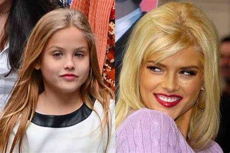 presley wayne smith anna nicole smith s daughter dannielynn looks just like