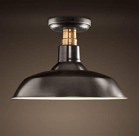restoration hardware kitchen lighting restoration hardware vintage barn flushmount does not 4795