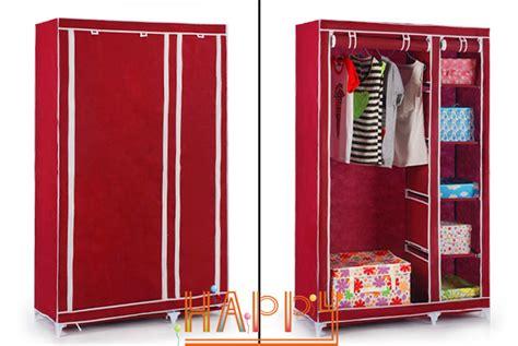 house scenery bedroom simple steel frame folding cabinet
