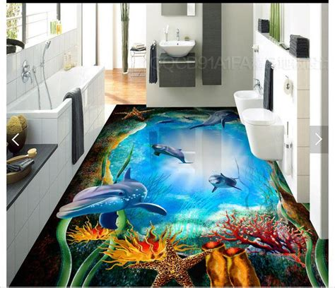 3d Epoxy Wallpapers by Customized 3d Photo Wallpaper 3d Pvc Floor Painting
