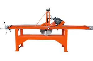 Chicago Electric Tile Saw 7 by Red Band Mx15 5 20 Quot Bridge Saw 1500mm 415v Electric