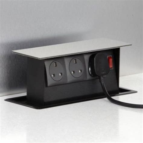 S Box Power Box 3 Socket Pop Up Accessory   For the