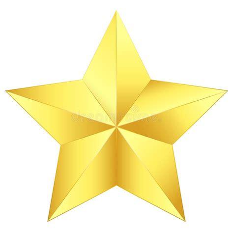 stella clipart clipart dorato della stella dell illustrazione di vettore