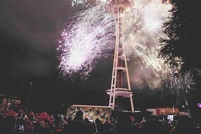 Fireworks Eve Celebration Snow Seattle Dawn Center