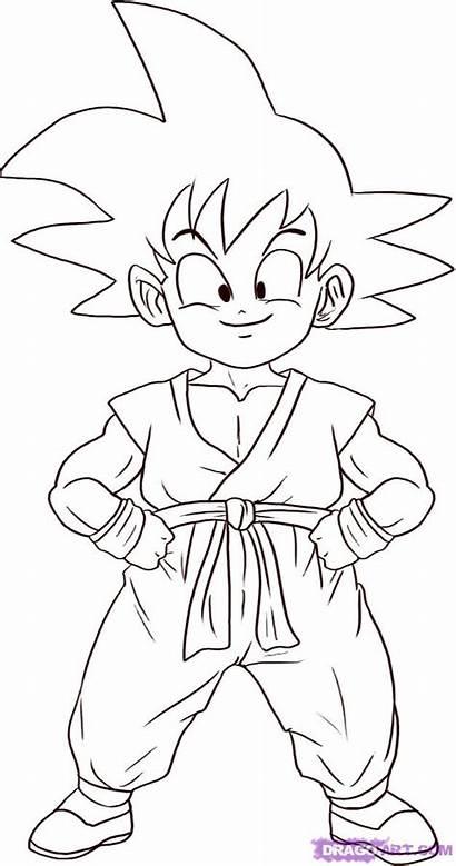 Goku Dibujos Colorear