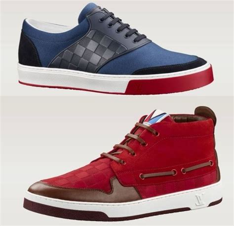 posh manly monogrammed sneakers louis vuitton ss  mens