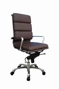 Plush, High, Back, Adjustable, Swivel, Office, Chair, By, J, U0026m, Furniture