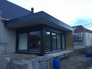 1000 idees sur le theme bardage sur pinterest exterieur With delightful maison bois toit plat 16 extension de maison en bois