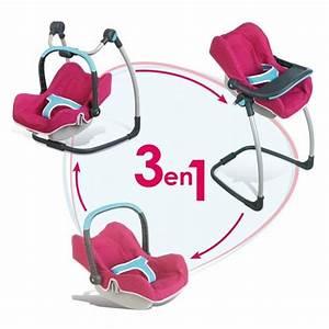 Cosy Pour Bébé : cosy chaise haute pour poup e b b confort rose jeux et jouets smoby avenue des jeux ~ Teatrodelosmanantiales.com Idées de Décoration