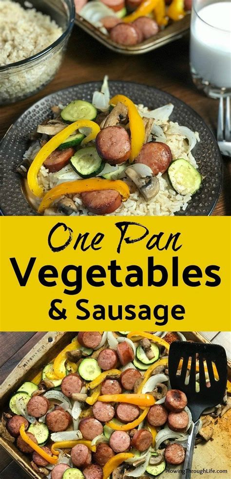 sheet meal baking pan recipes meals easy summer sausage sheets dinner weeknight plowingthroughlife