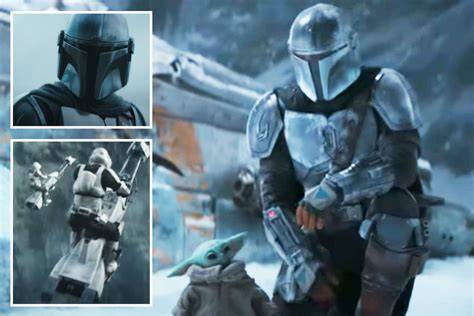 The Mandalorian season 2 trailer sees Mando battle waves ...