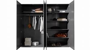 Kleiderschrank Grau Holz : kleiderschrank container schrank in grau industriedesign ~ Frokenaadalensverden.com Haus und Dekorationen