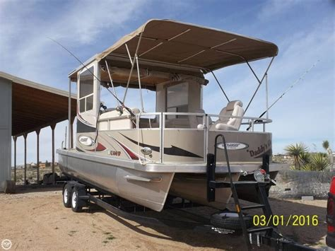 Used Voyager Pontoon Boats For Sale by 2010 Used Voyager 22 Ski Pontoon Boat For Sale