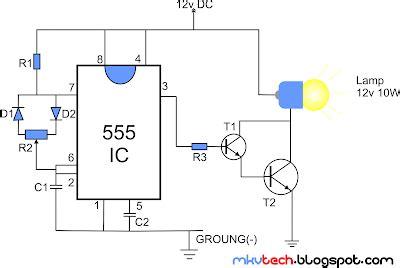 Diy Pwm Lamp Dimmer Using