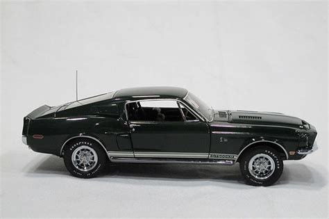 Model Car by Sold Model Car Franklin Mint 1968 Shelby Gt500 Signed