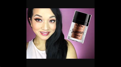Nyx Shimmer nyx shimmer pigment review worth the hype mascara