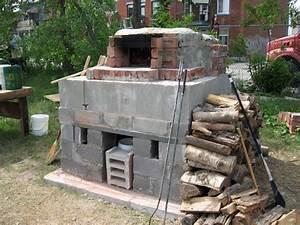 construire un four a bois exterieur ustensiles de cuisine With construire four a pizza exterieur