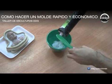como hacer un molde de silicona r 225 pido y econ 243 mico por ddg youtube