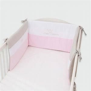 Baby Nestchen Rosa : kleine prinzessin nestchen rosa 40 x 190 cm aus der be be ~ Watch28wear.com Haus und Dekorationen