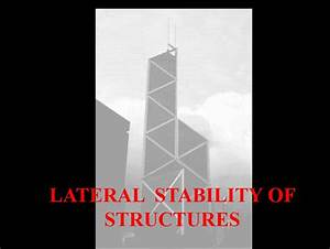 Lateral Stability Of Structures