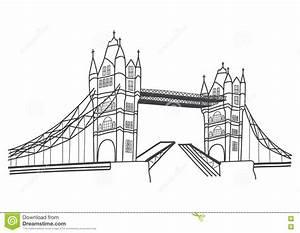 London Bridge Dessin : disegno del ponte della torre di londra illustrazione vettoriale illustrazione di tipico ~ Dode.kayakingforconservation.com Idées de Décoration