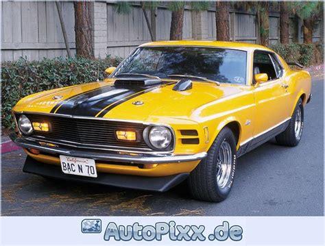 70 Mustang Mach 1