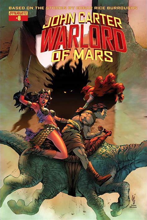 dynamite john carter warlord  mars