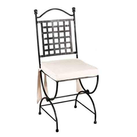 chaise en fer forge chaise en fer forgé betty 4 pieds tables chaises et
