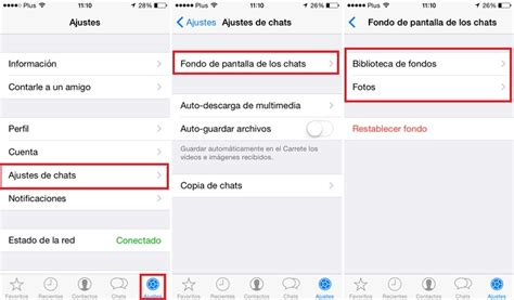 cambiar fondo de pantalla en whatsapp guia paso  paso