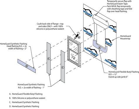 installation bureau window installation tyvek window installation