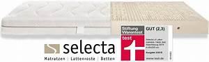 Prepaid Testsieger Stiftung Warentest 2018 : latexmatratze selecta l4 latexmatratze testsieger ~ Jslefanu.com Haus und Dekorationen
