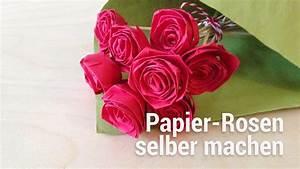 Papierblumen Aus Servietten : anleitung zum falten von papier rosen youtube ~ Yasmunasinghe.com Haus und Dekorationen