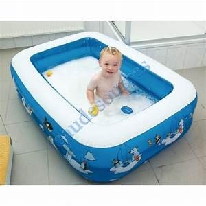 Baignoire Douche Enfant : piscine gonflable rectangulaire pour douche ~ Nature-et-papiers.com Idées de Décoration