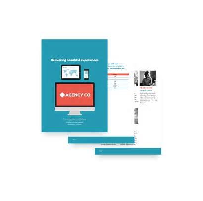 Proposal Template Web Website Sample Templates Proposify