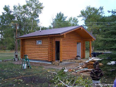 Small Log Cabin by Small Log Cabins Cowboy Log Homes