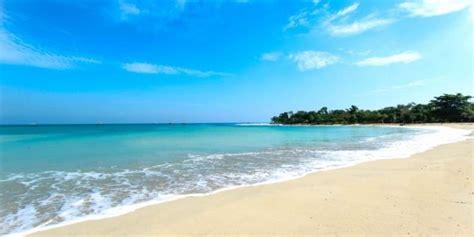 pantai tanjung lesung pantai perawan  barat pulau jawa