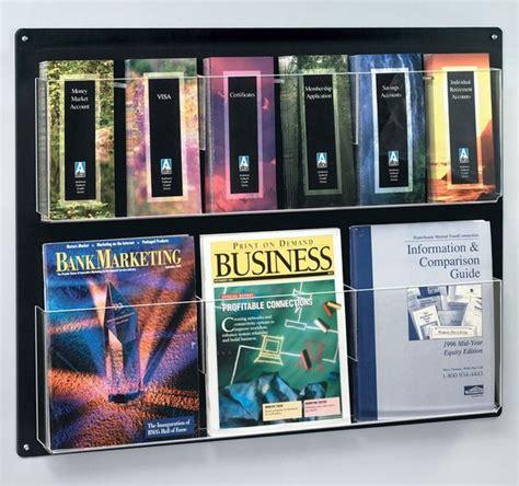 plastic magazine holders wall mount acrylics and magazines on 1545