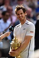 est100 一些攝影(some photos): Andy Murray, wins his second Wimbledon title. 安迪·穆雷/ 莫瑞, 贏得第二座溫網冠軍