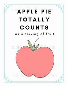 Apple Pie Print... Pie Food Quotes
