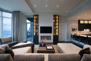 North Lakeview - Contemporary - Living Room - Chicago
