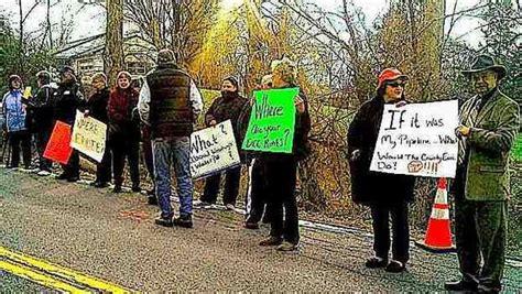 protests  kiryas joel water grab continue