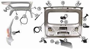 Diagrams For Jeep    Liftgate  U0026 Tailgate Parts    Jeep