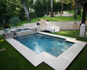 Small backyard inground wading pools joy studio design for Swimming pool and spa design