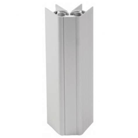 de fixation pour plinthe aluminium et pvc emuca bricozor